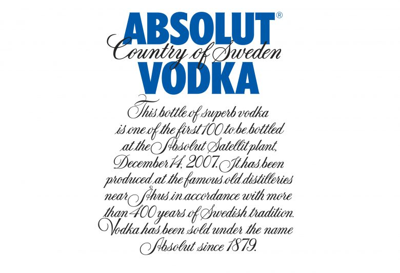 Absolut Vodka<br />